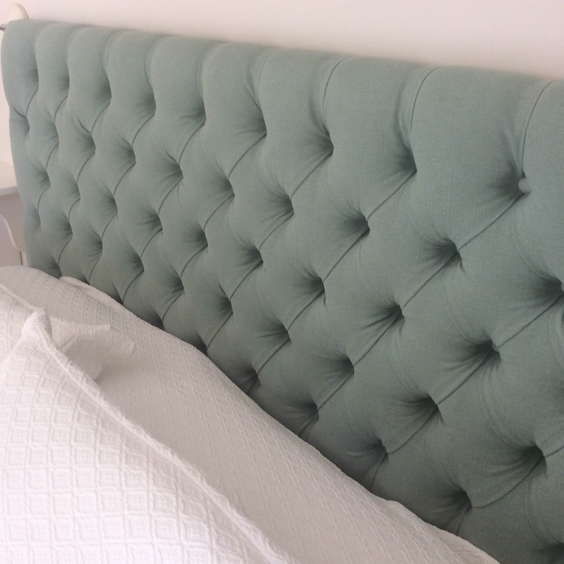 Custom headboard in East Molesey