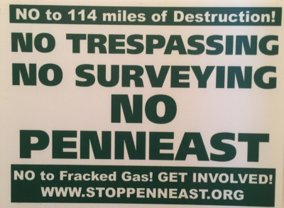 the PennEast pipeline