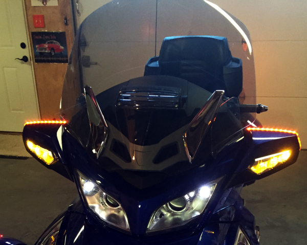 Spyder WGT LED Signal Wrap Installed