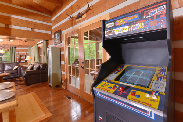 Appalachian Escape Cabin Inside - arcade