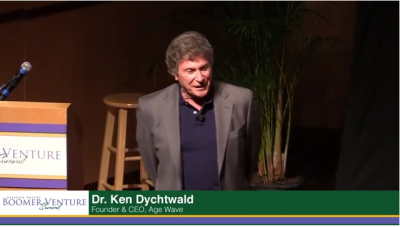 "Listen to Ken Dychtwald on ""The Longevity Economy"""