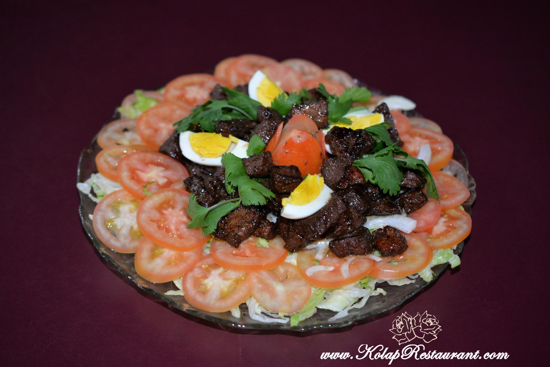 Beef Salad (Lok Lak)