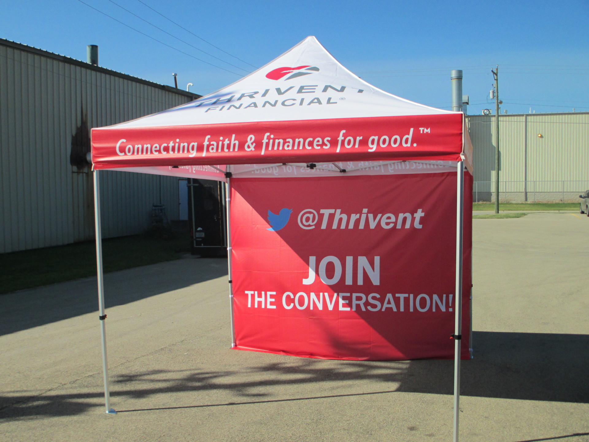 Tents and banners for your next event will get you noticed!