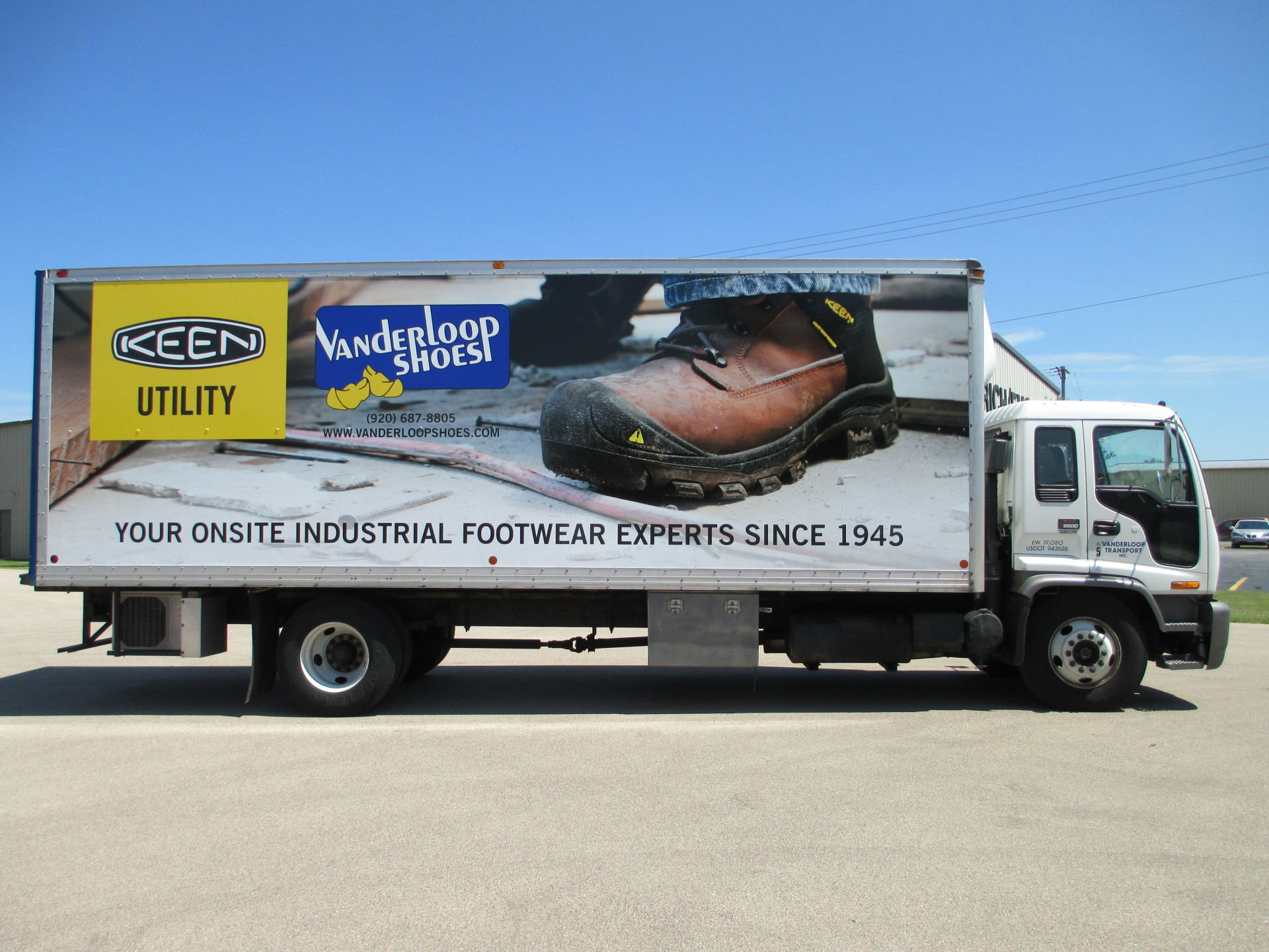 Eye popping vehicle graphics from simple vinyl letter to full color wraps!