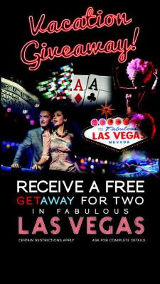 Win a trip to Vegas!