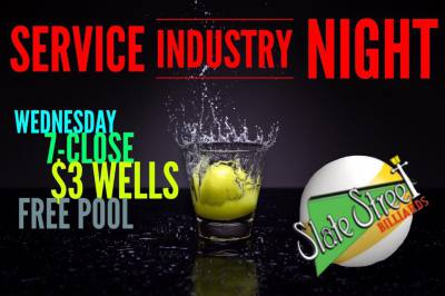 Service industry night!