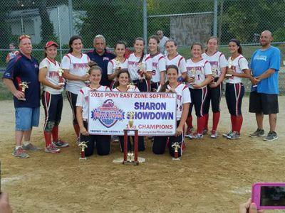 2016 Sharon Mass 16U Champions