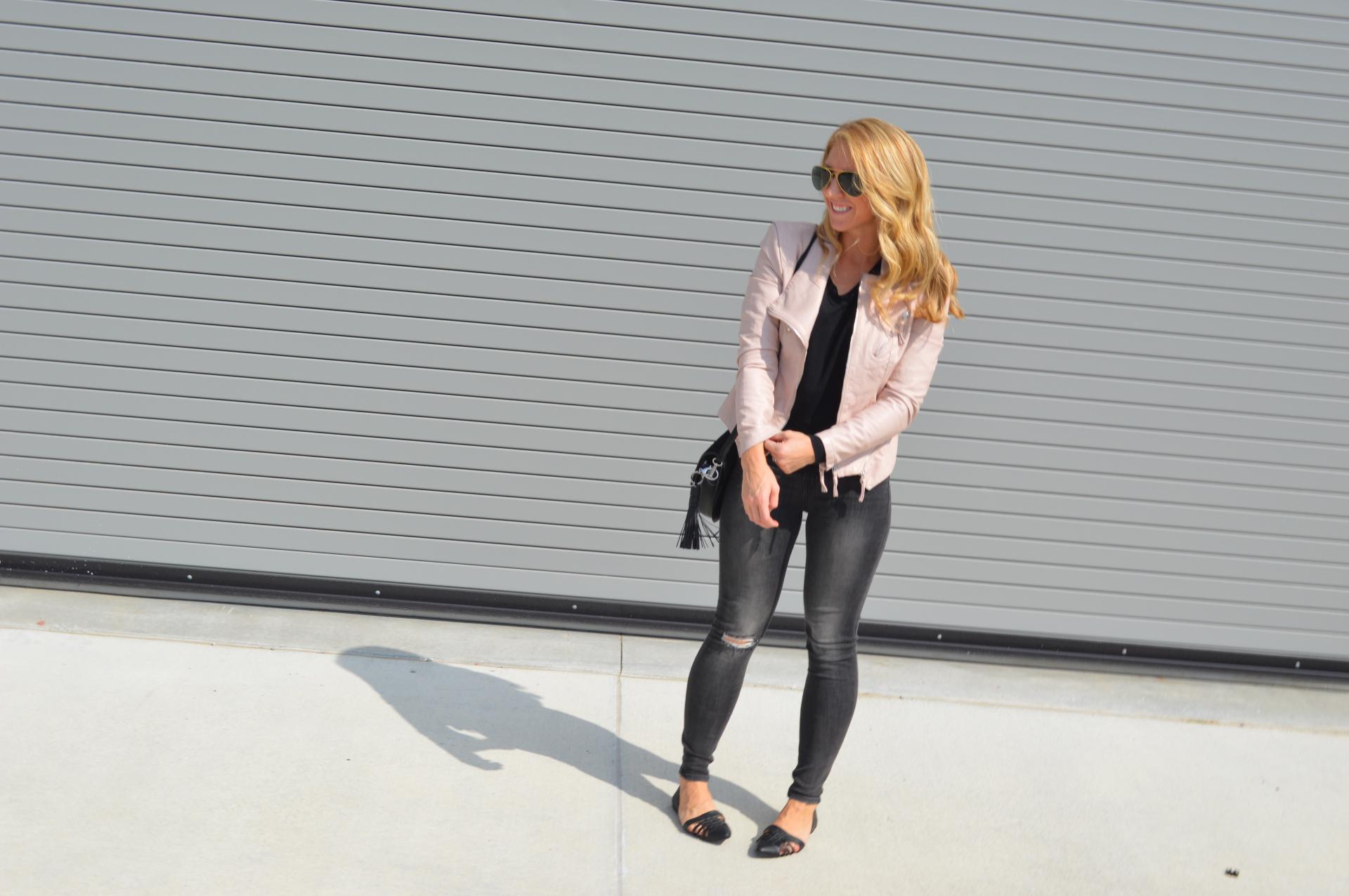 Blush Leather