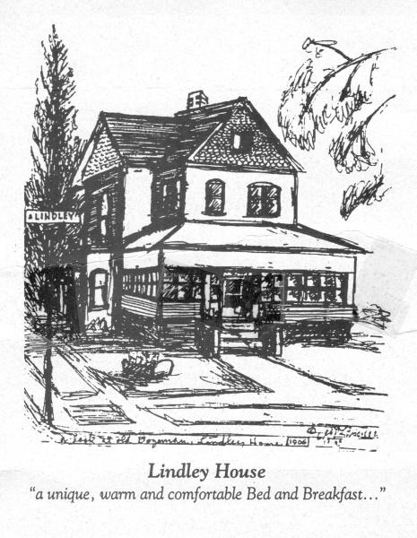 Lindley House Sketch