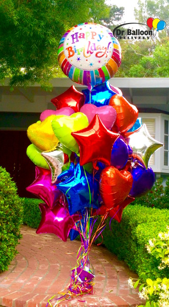 West hollywood balloon store balloon bouquets and for Balloon decoration los angeles
