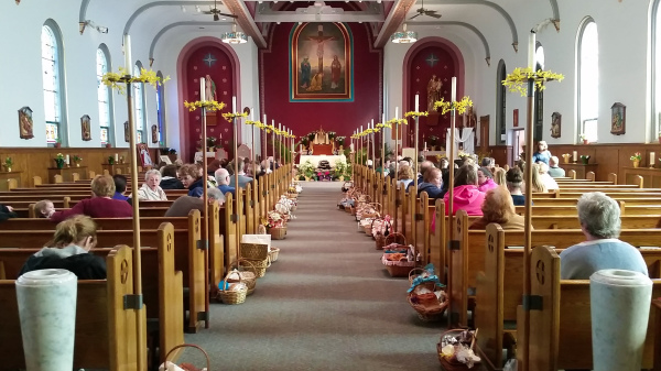 Blessing of Baskets