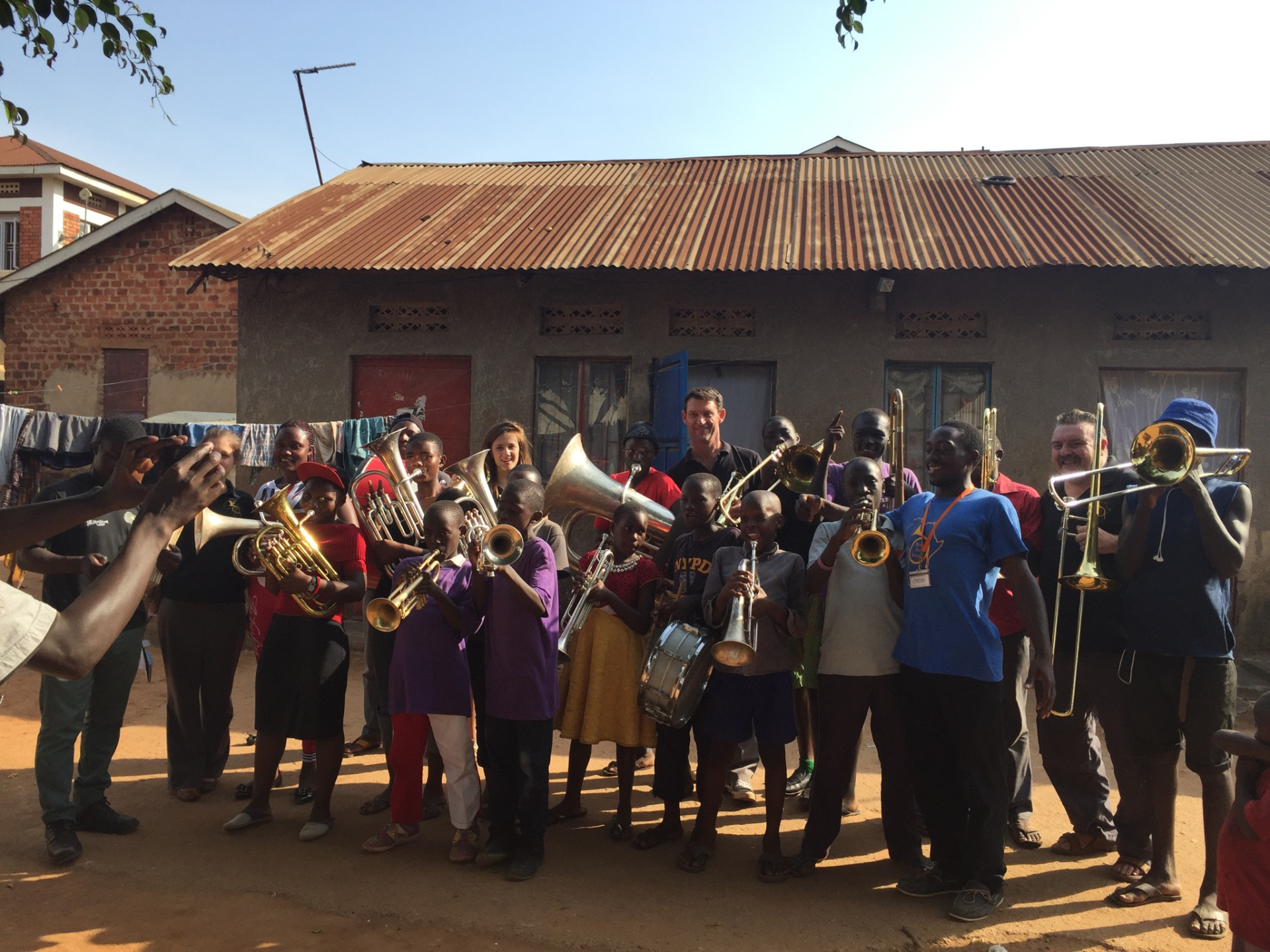 New Programme Launched in Namuwongo Slum