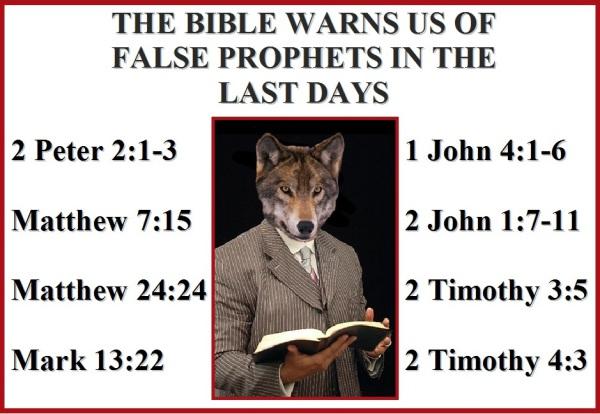 Battle of the Last Days Part 2 -   Beware of the False Prophetsl!