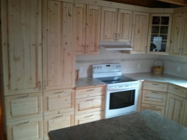 Custom Pine Cabinetry
