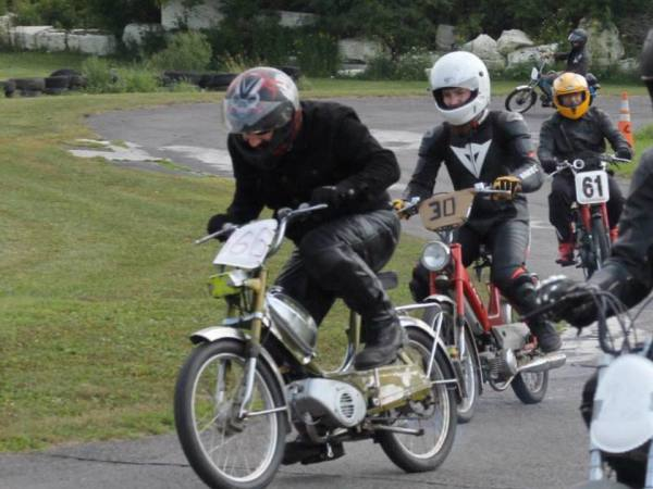 Moped Racing