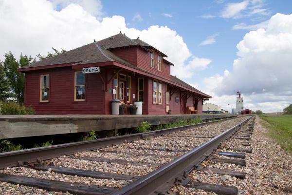 Ogema Train Station