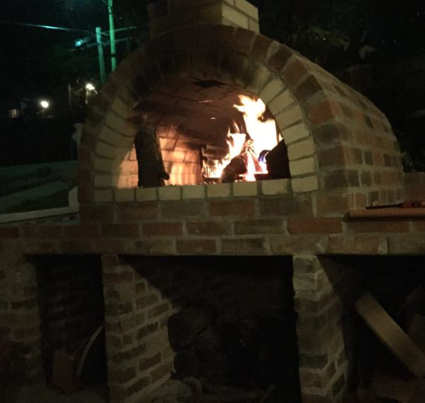Our pizza oven!