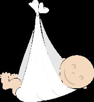 stork and baby bundle