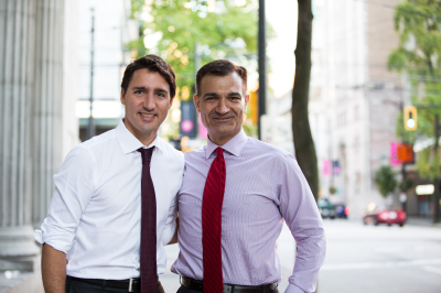 Image result for Peschisolido & Chung with Trudeau