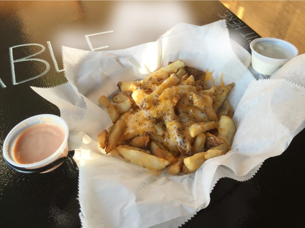 Shredded Cheddar Cheese Fries