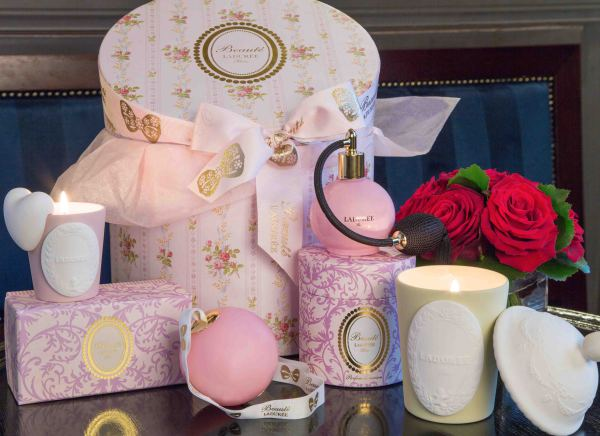 Laduree at Hamptons Club. Hand Made Candles and Accessories from the famous French bakery.