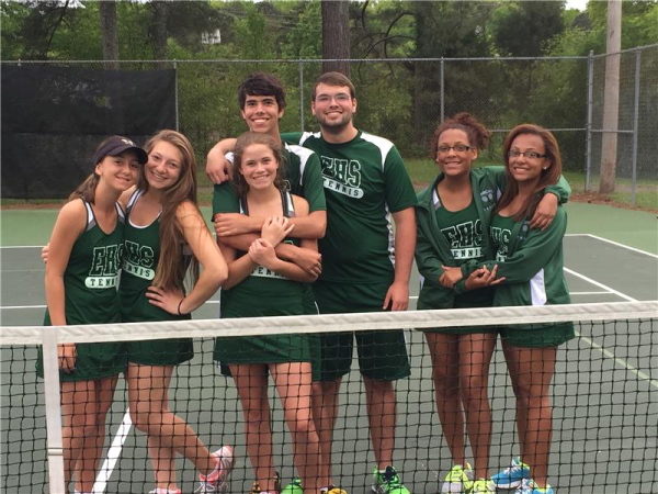 East Hamilton Tennis on the Road to State