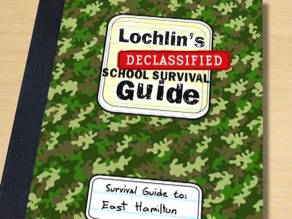 Declassified survival guide crafted by me, Lochlin Mullins.