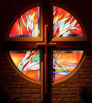 burning bush or light of the resurrection ?