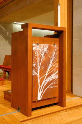 modern Ambo has tree of life image