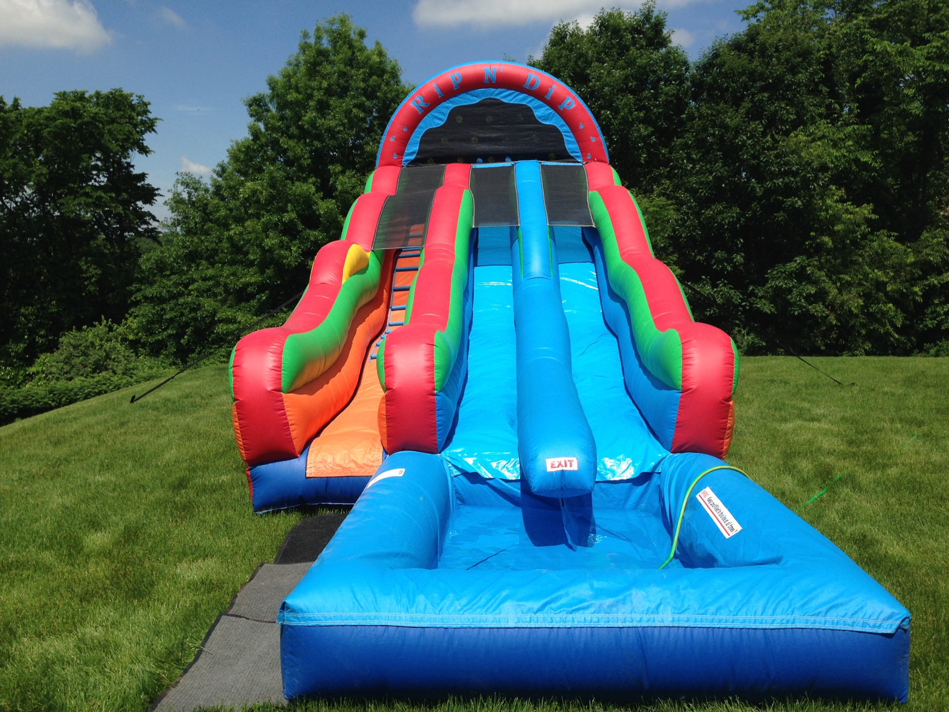 Inflatable Giant Water Slide Rentals In Lancaster