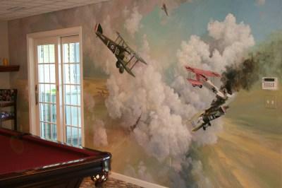 Poolroom Mural