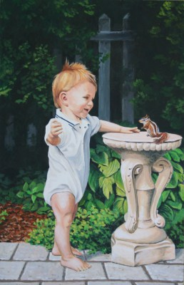 "Acrylic Painting 20""x13"""
