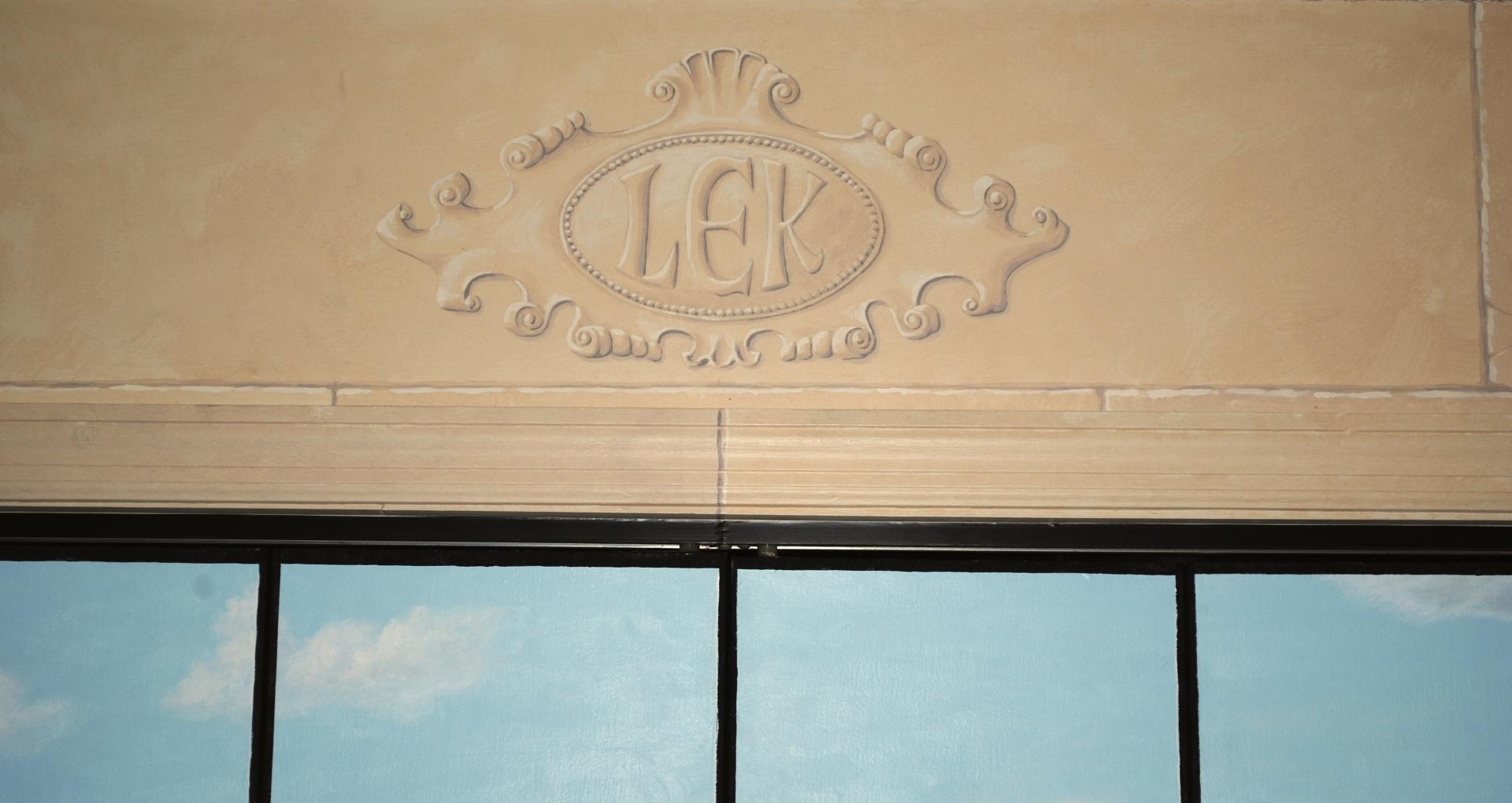 Detail Above Closet.