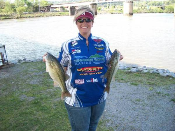 NATA 2015 --Angler of The Year -- Tina Woods