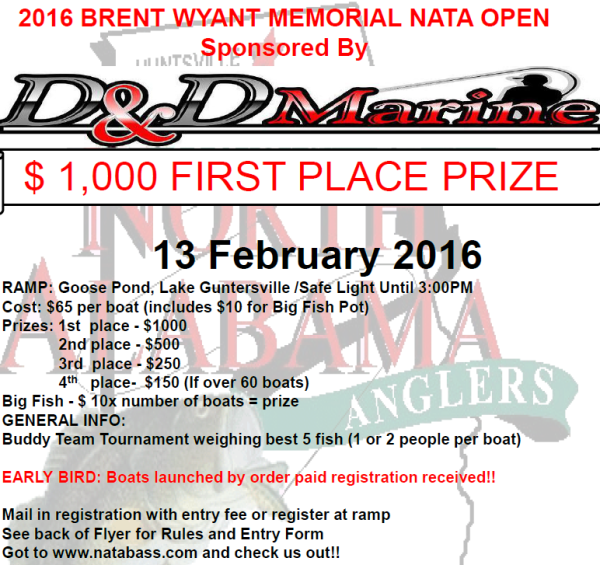 2016 - Brent Wyant Memorial Open -- Feb 13th, 2016