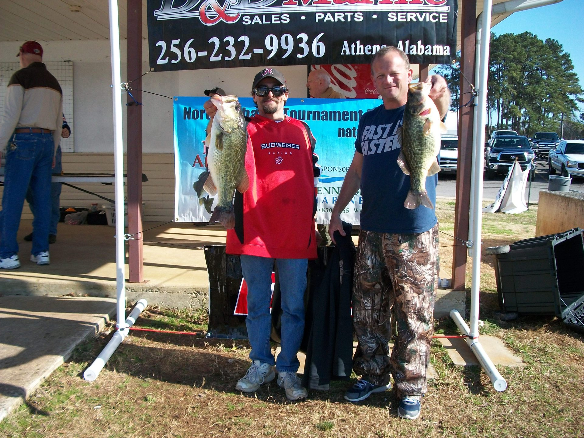 NATA OPEN Big Fish 8.10 Lbs. Kelly wood/Patrick Gaddison