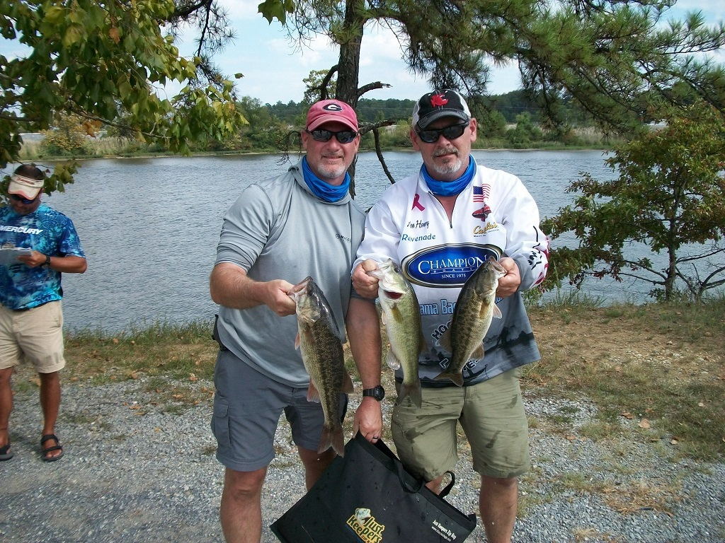 Weiss Lake 1st Place - 13.70 lbs. ALLEN HENRY & TIM (guest)