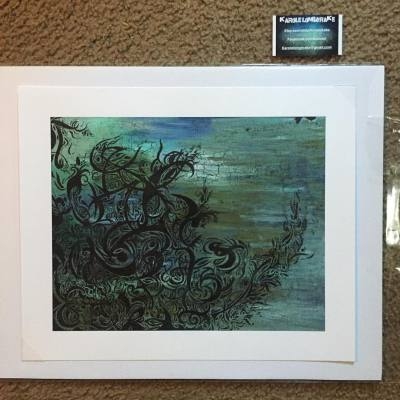 Giclee prints of Ushering In - $40