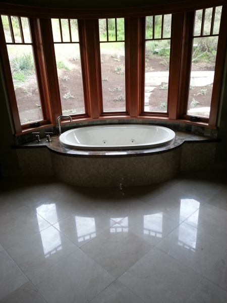 Bath tub remodel