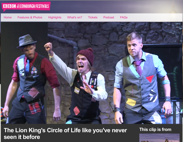 BBC highlight of the Edinburgh Fringe