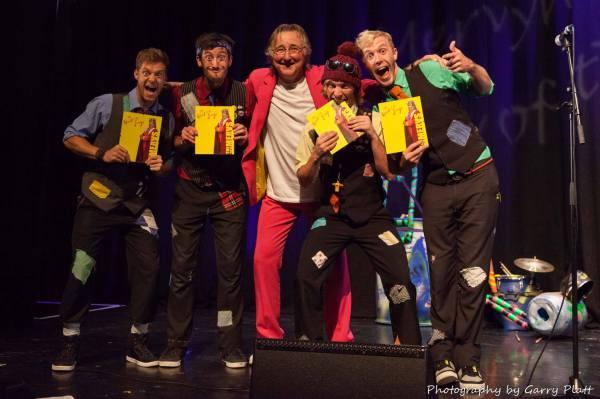 Picking up our 'Spirit of the Fringe' Award
