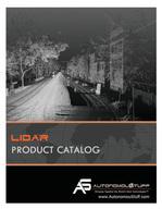 lidar product catalog