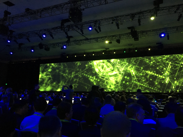 NVIDIA Self-Driving Car Video featuring AStuff Platform
