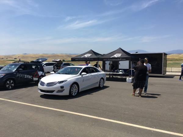 Self-Racing Cars Track Day Results