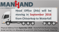 Head Office is moving