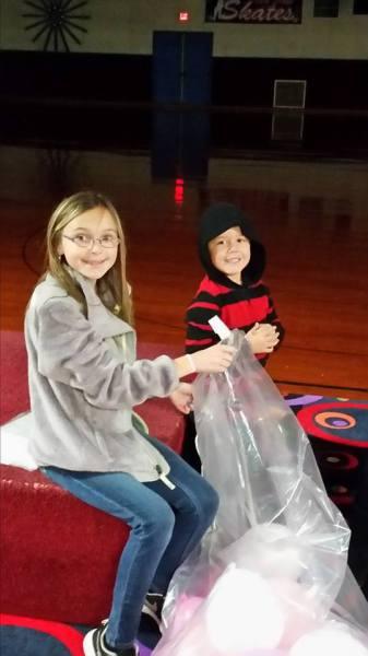 Emily and Brayden