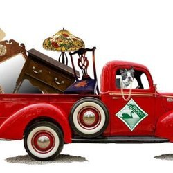 Truckload of Antiques and Furniture