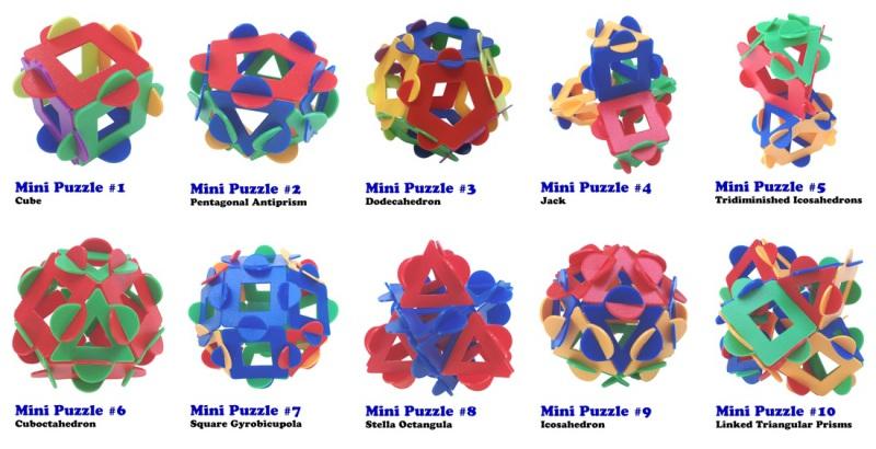 ITSPHUN mini puzzles