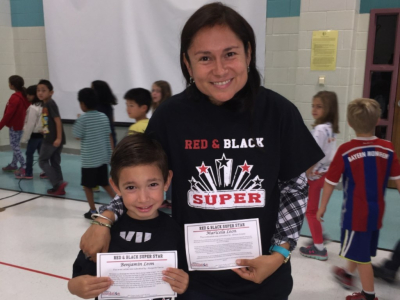 Red & Black Super Star