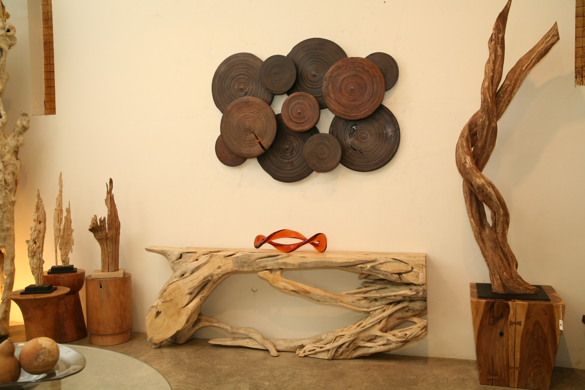 asian art imports natural wood furniture